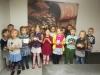 """Grupės ,,Ežiukai"""" (5-6  m.) ugdytiniai ir jų auklėtoja Regina Kavaliauskienė"""